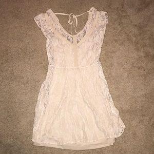 White, lacy dress